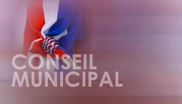 Prochain conseil municipal le 8 juin 2018