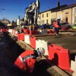 Point d'étape sur les travaux de l'aménagement de la traversée du village