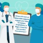 Covid-19 : indemnités des élèves infirmiers et aides-soignants