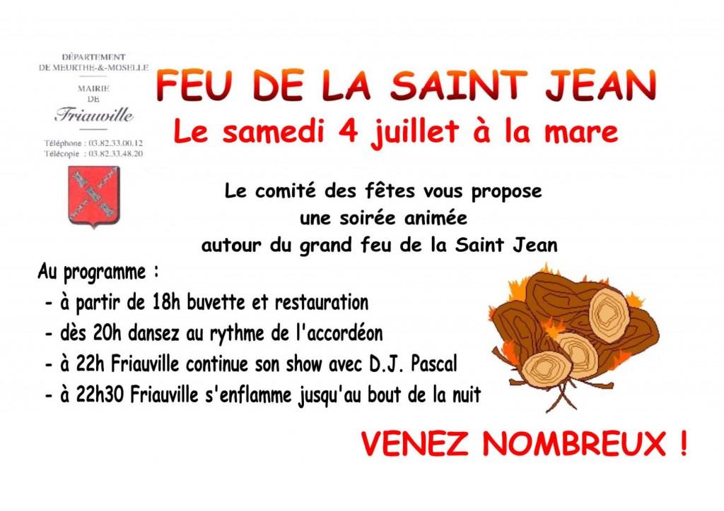 Feu de la Saint Jean 2009