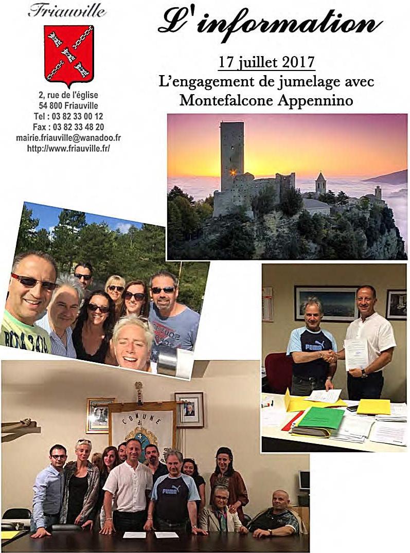 délégation communale à Montefalcone Appennino