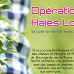 Opération Haies du 29/9 au 20/10/21