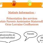 les assistantes maternelles RdV les 4 et 18 sept