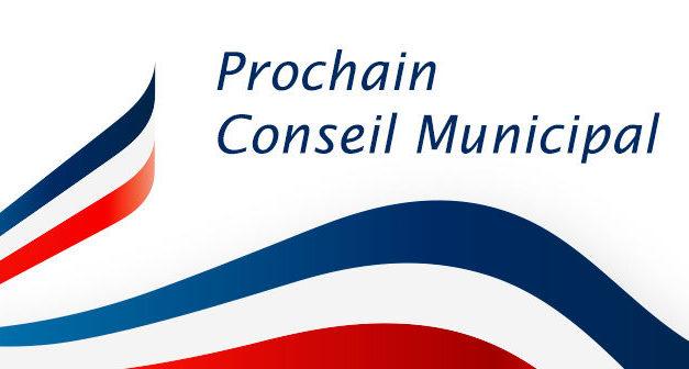 Prochain conseil municipal le 10 déc 2021