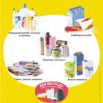 Sacs jaunes pour les déchets recyclables 20/04/2020